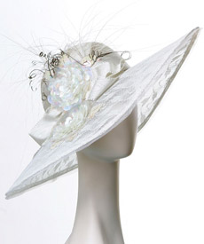 Fashion hat Camille by Melbourne milliner Louise Macdonald