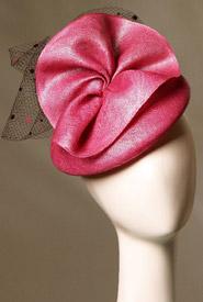 Fashion hat San Remo by Melbourne milliner Louise Macdonald