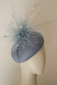 Fashion hat Georgie Girl beret by Melbourne milliner Louise Macdonald