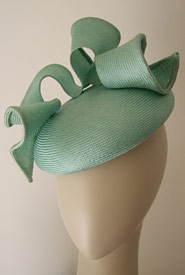 previous Fashion hat Purdy Beret mint by Melbourne milliner Louise  Macdonald next 8014fadc07f