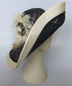 Fashion hat Apollo Prince by Melbourne milliner Louise Macdonald