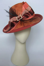 Fashion hat Arwon by Melbourne milliner Louise Macdonald
