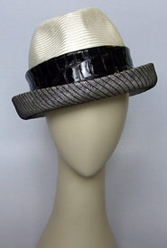 Fashion hat 10 Chief Steward by Melbourne milliner Louise Macdonald