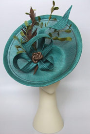 Fashion hat Ethereal by Melbourne milliner Louise Macdonald