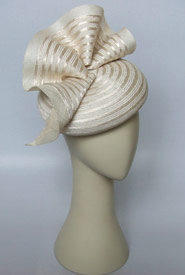 Fashion hat Hyperno by Melbourne milliner Louise Macdonald