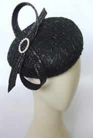 Fashion hat Jeune by Melbourne milliner Louise Macdonald