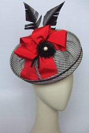 Fashion hat Let's Elope by Melbourne milliner Louise Macdonald