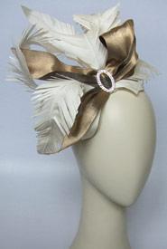 Fashion hat Spearfelt by Melbourne milliner Louise Macdonald