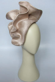 Fashion hat Vanderhum by Melbourne milliner Louise Macdonald
