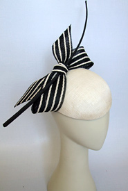 Fashion hat A Capella by Melbourne milliner Louise Macdonald