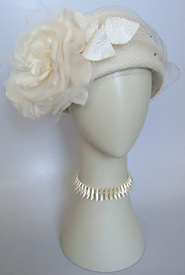 Fashion hat Dolce by Melbourne milliner Louise Macdonald