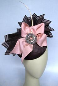 Fashion hat Fandango by Melbourne milliner Louise Macdonald