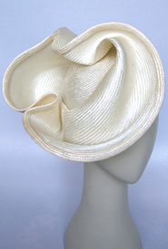 Fashion hat Flamenco by Melbourne milliner Louise Macdonald