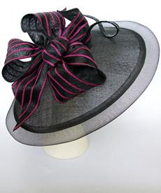 Fashion hat Legato by Melbourne milliner Louise Macdonald