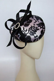 Fashion hat Minuet by Melbourne milliner Louise Macdonald