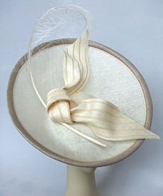 Fashion hat Rhapsody by Melbourne milliner Louise Macdonald