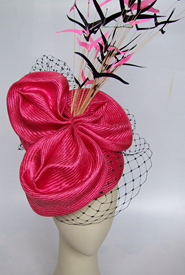Fashion hat Rumba by Melbourne milliner Louise Macdonald
