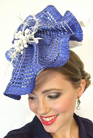 Fashion hat Ceto by Melbourne milliner Louise Macdonald