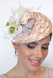 Fashion hat Eos by Melbourne milliner Louise Macdonald