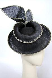 Fashion hat Eris by Melbourne milliner Louise Macdonald