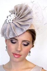 Fashion hat Selene by Melbourne milliner Louise Macdonald
