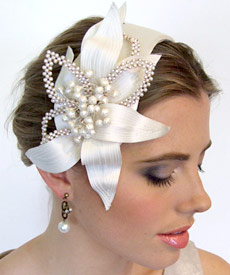 Fashion hat Thea by Melbourne milliner Louise Macdonald