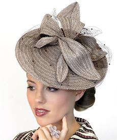 Fashion hat Bonnie by Melbourne milliner Louise Macdonald