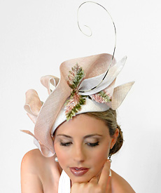 previous Fashion hat Cinderella by Melbourne milliner Louise Macdonald next 42c6c8b4410