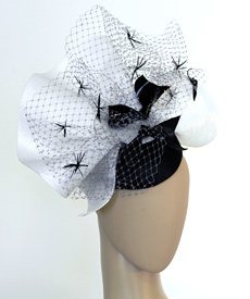 Fashion hat Auntie Mame by Melbourne milliner Louise Macdonald