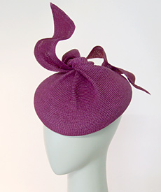 Fashion hat Pipi Longstocking by Melbourne milliner Louise Macdonald