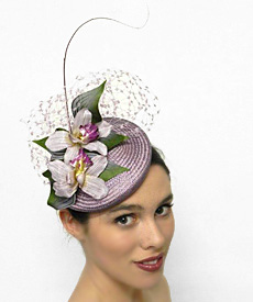 Fashion hat 23rd Street, a design by Melbourne milliner Louise Macdonald