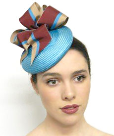 Fashion hat 42nd Street, a design by Melbourne milliner Louise Macdonald