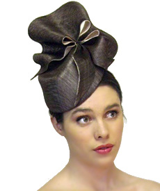 Fashion hat Amelie, a design by Melbourne milliner Louise Macdonald