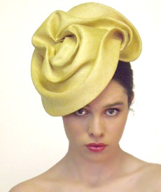 Fashion hat Brooklyn, a design by Melbourne milliner Louise Macdonald