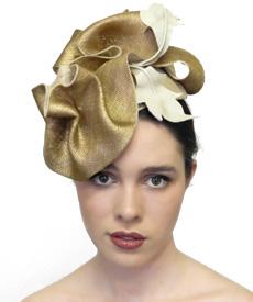 Fashion hat Columbus, a design by Melbourne milliner Louise Macdonald