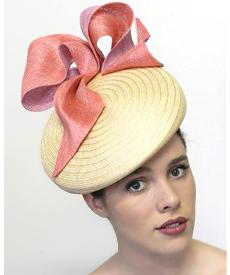 Fashion hat Delancy, a design by Melbourne milliner Louise Macdonald
