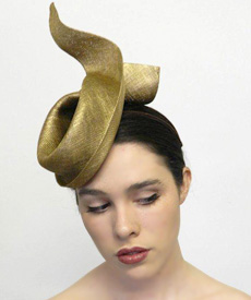 Fashion hat Empire, a design by Melbourne milliner Louise Macdonald
