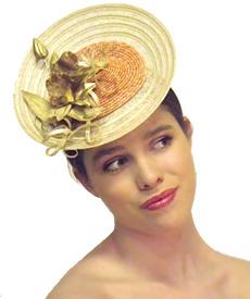 Fashion hat Grimaldi III, a design by Melbourne milliner Louise Macdonald
