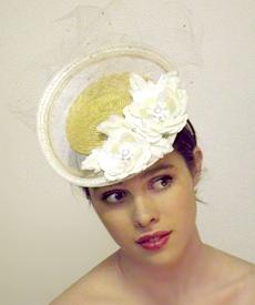 Fashion hat Grimaldi V, a design by Melbourne milliner Louise Macdonald