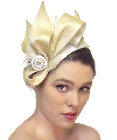 Fashion hat High Line, a design by Melbourne milliner Louise Macdonald