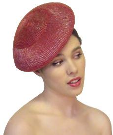 Fashion hat Lincoln Beret, a design by Melbourne milliner Louise Macdonald