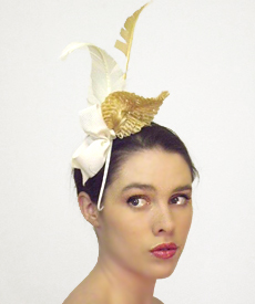 Fashion hat Macy, a design by Melbourne milliner Louise Macdonald