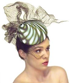 Fashion hat Manhattan, a design by Melbourne milliner Louise Macdonald