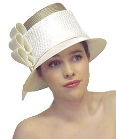 Fashion hat Queensbridge, a design by Melbourne milliner Louise Macdonald