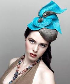 Fashion hat Cousin Vinnie, a design by Melbourne milliner Louise Macdonald