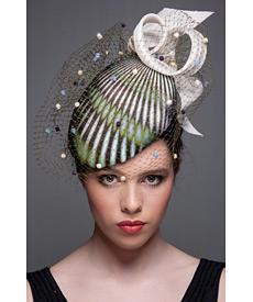 Fashion hat Soho Beret, a design by Melbourne milliner Louise Macdonald
