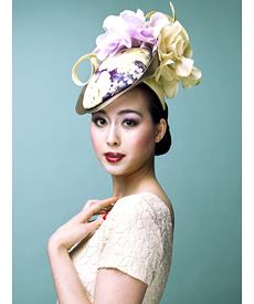 Fashion hat Jasper, a design by Melbourne milliner Louise Macdonald