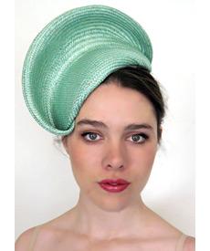 Fashion hat Mint Nola, a design by Melbourne milliner Louise Macdonald