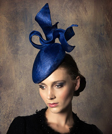 Fashion hat Royal Lucie Beret, a design by Melbourne milliner Louise Macdonald