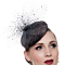 Fashion hat Grey Beret, a design by Melbourne milliner Louise Macdonald